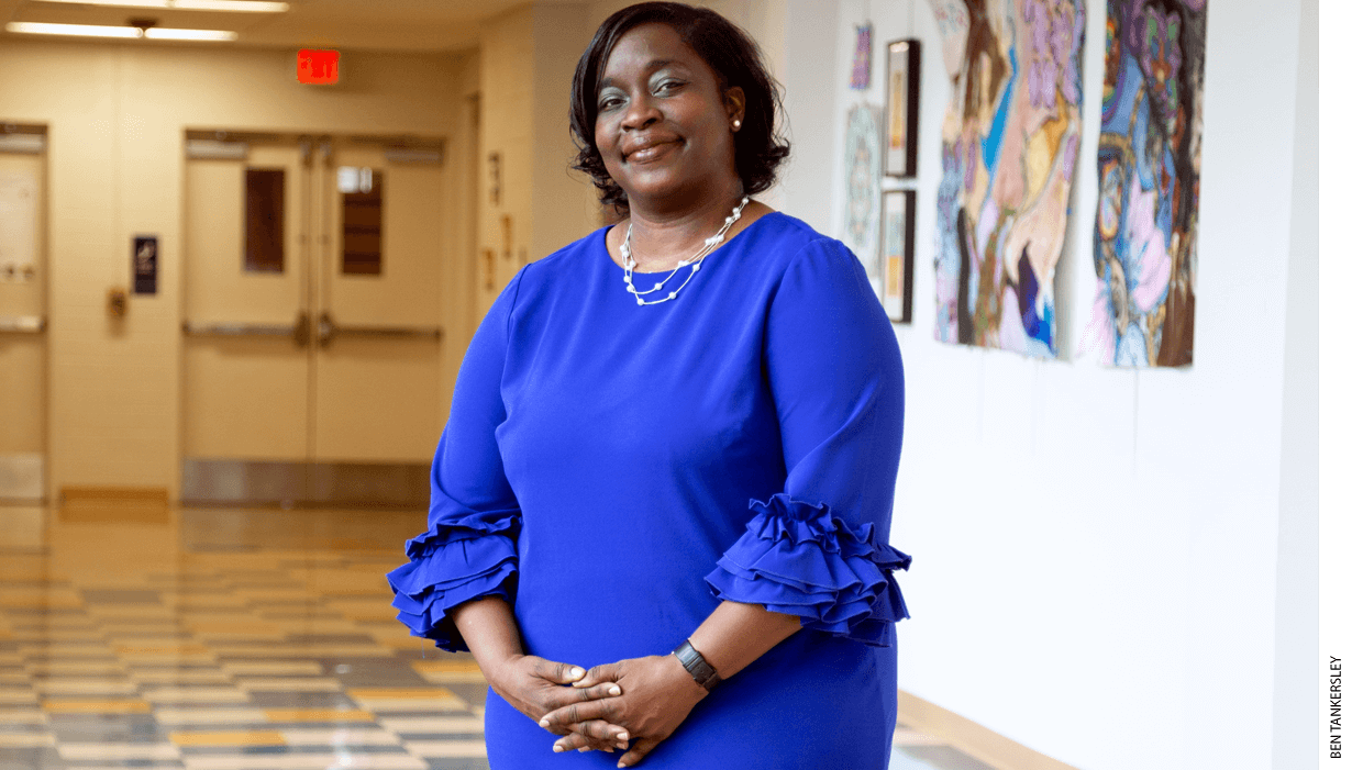 Principal Belicia Reaves, Capital City Public Charter School, Washington, D.C.