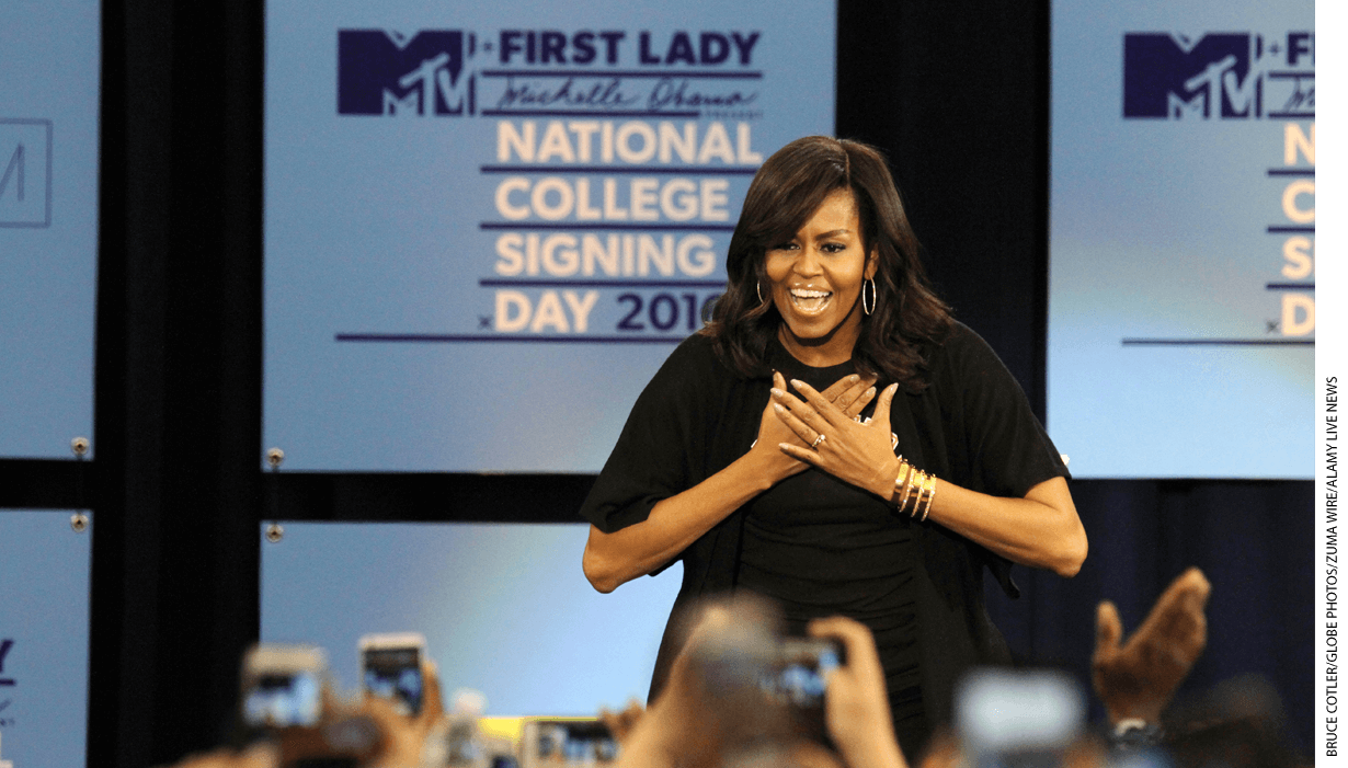 Michelle Obama on National College Signing Day