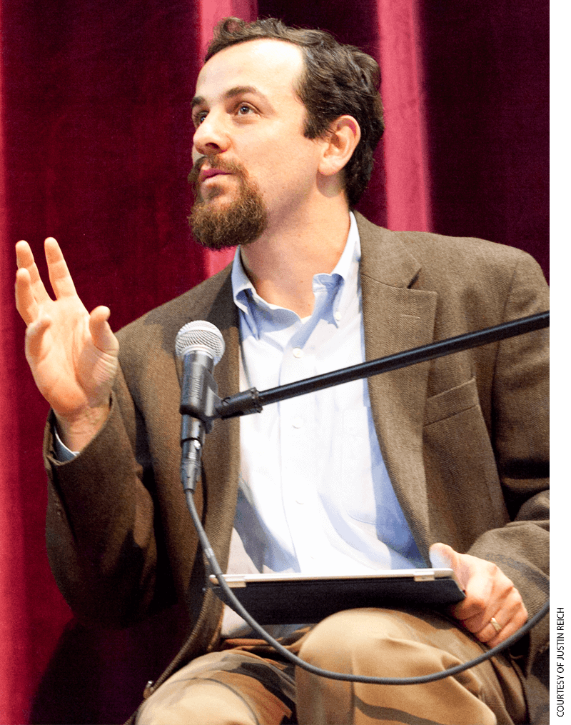 Photo of Justin Reich