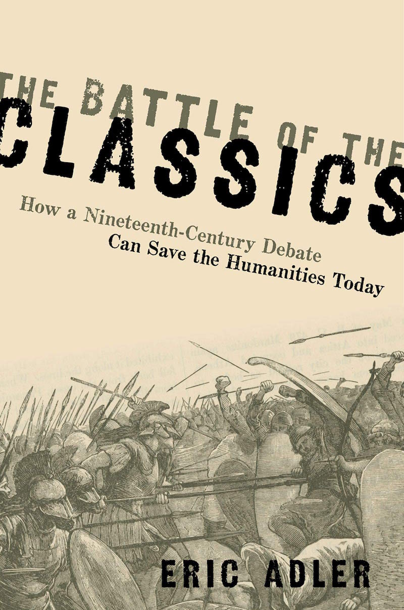 """Book cover of """"The Battle of the Classics"""""""